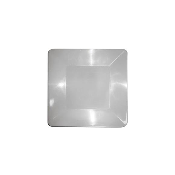 Prato quadrado 29x29cm 29072bb - Bestfer