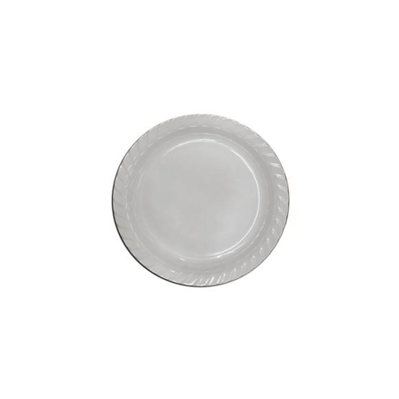 Saladeira redonda rasa 30cm branca 29079bb - Bestfer